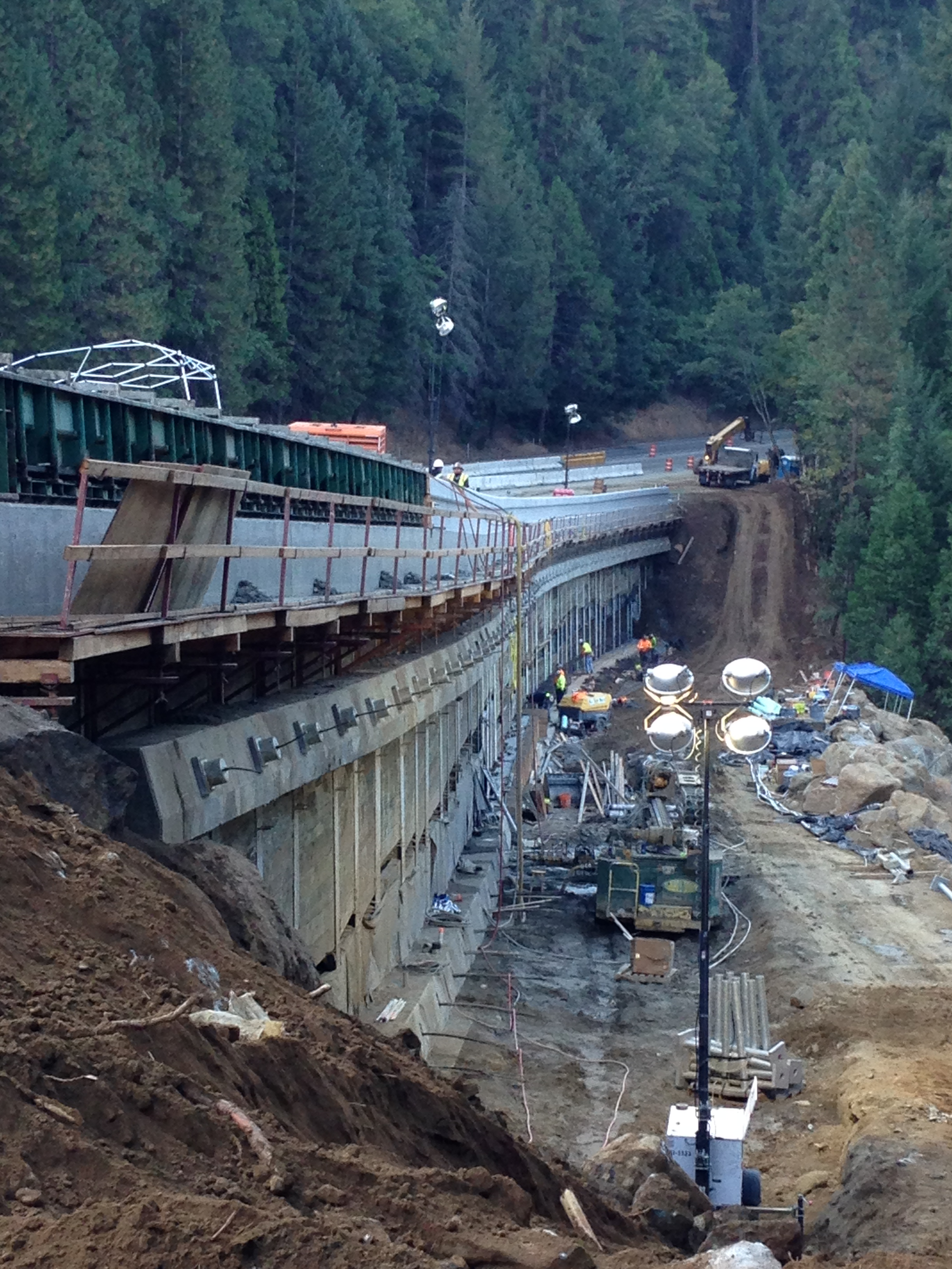 HWY 50 Bridal Veil Falls Emergency | Myers & Sons Construction